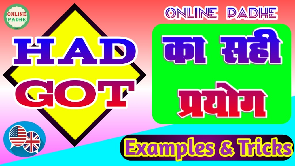 English Grammar of Online Padhe